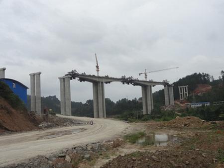 驾荔桥墩项目钢模板租赁