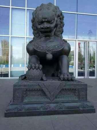 铜雕狮子专业定做