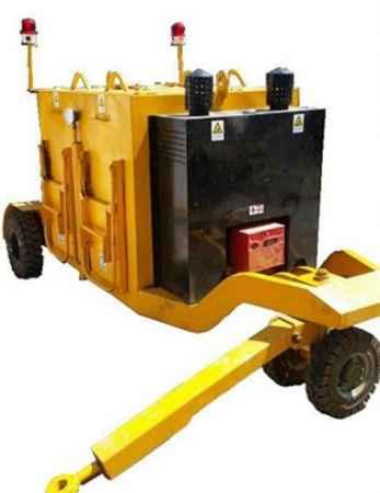 拖挂式保温料箱