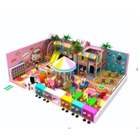 糖果系列木马沙池滑梯组合儿童乐园价格