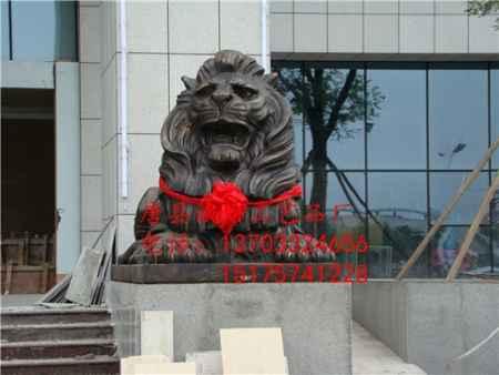 铜狮子雕塑价格