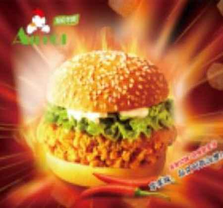 汉堡快餐连锁加盟商