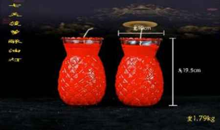 安徽菠萝酥油灯厂家直销