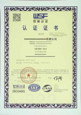 世标环境管理体系认证