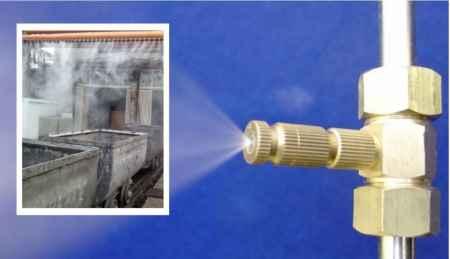 干雾抑尘装置微米级