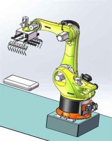 机器人工装夹具自动校准系统