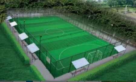 笼式五人制足球运动设施
