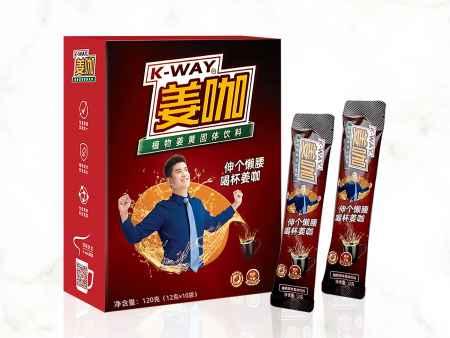 浙江姜咖速溶饮料生产厂家
