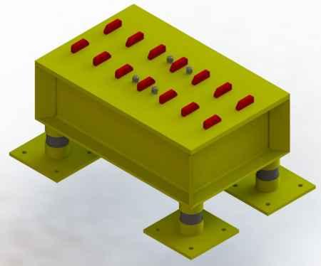 混凝土构件振动单元