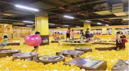 郑州百万海洋球池多少钱